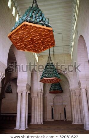Mesquita Tunísia passos manhã Foto stock © Kayco