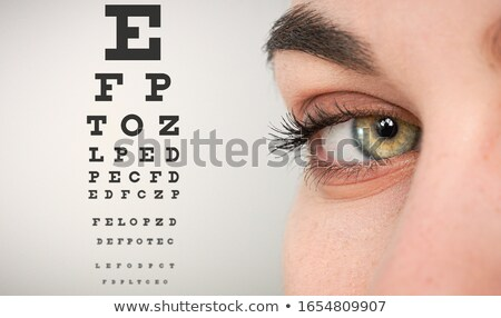 Doctor and optical glasses  Stock photo © designers