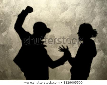 пару · сердиться · человека · жена · люди - Сток-фото © diego_cervo
