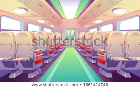 utazás · kényelmes · vonat · kilátás · üzlet · nyár - stock fotó © stevanovicigor