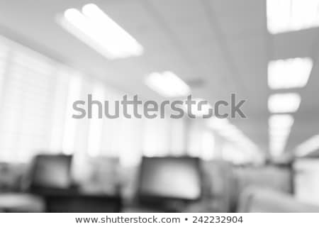 workplace in light  black and white Stock photo © tracer