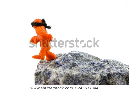Teeter on the Brink of the Abyss Stock photo © manfredxy