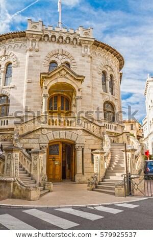Entrance of the courthouse in Monte Carlo, Monaco Stock photo © jirivondrous