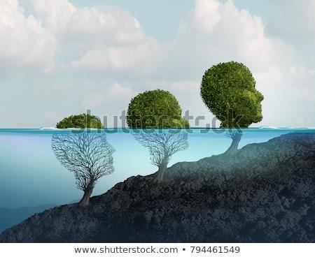 человека настроение эмоций дерево Сток-фото © Lightsource