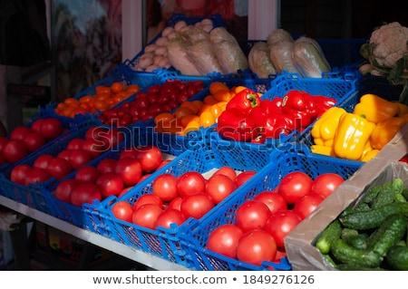 Stock fotó: Sok · gyümölcsök · nagy · gyümölcs · full · frame · közelkép