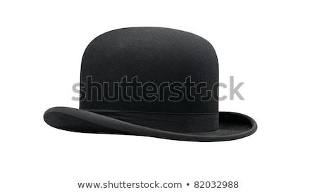 negro · sombrero · irlandés · hebilla · espacio · color - foto stock © leonardo
