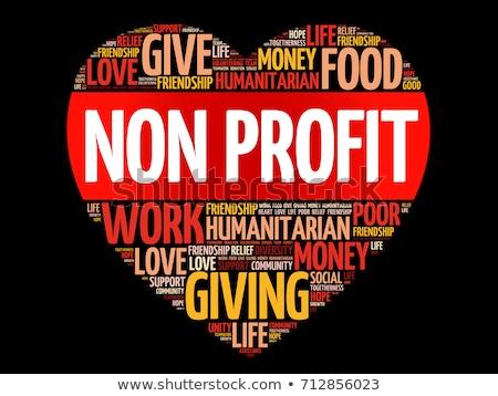 Winst woorden zakenvrouw man handen business Stockfoto © fuzzbones0