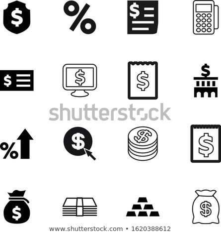 zöld · rajz · tő · fehér · notebook · óriásplakát - stock fotó © fuzzbones0