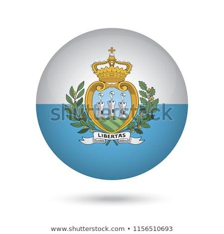 икона флаг Сан-Марино знак белый Сток-фото © MikhailMishchenko