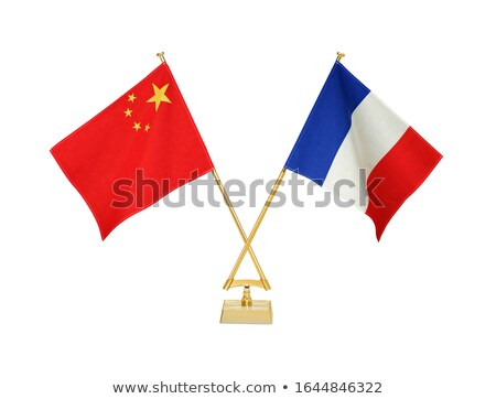 China and France - Miniature Flags. Stock photo © tashatuvango