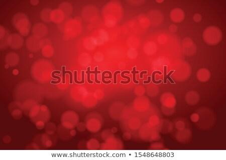 Christmas czerwone światło eps 10 wektora pliku Zdjęcia stock © beholdereye