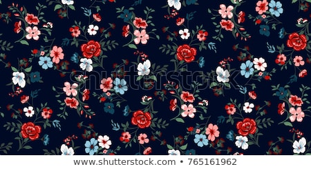 vector floral pattern stock photo © netkov1