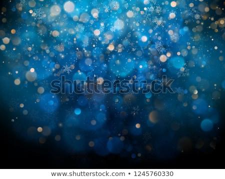 Christmas nowy rok uczta bokeh eps 10 Zdjęcia stock © beholdereye