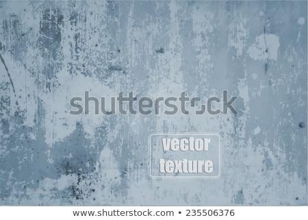 Stock fotó: Kék · festett · grunge · fém · textúra · idejétmúlt · felület