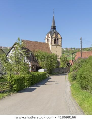 church in Baechlingen Stock photo © prill