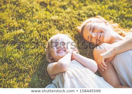 summer family stroll stock photo © artfotodima