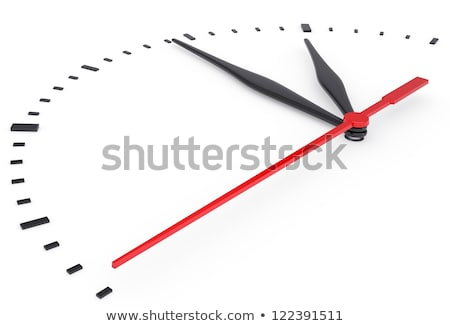 Clock Time Business Solution Stock photo © Lightsource