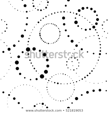Seamless pattern background with circular shapes Stock photo © feelisgood