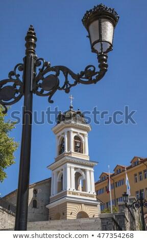 Bakire kilise güneşli yaz gün görmek Stok fotoğraf © vilevi