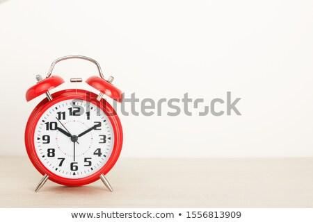 Atrasar vermelho corrida branco ilustração 3d azul Foto stock © limbi007