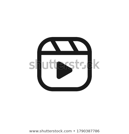 Movie buttons Stock photo © bluering