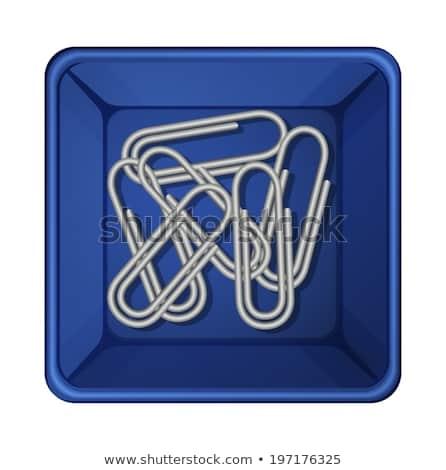 Wewnątrz pojemnik ilustracja biały szkoły tle Zdjęcia stock © bluering