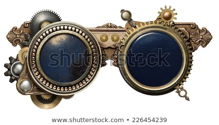 Steampunk goggles stock photo © coprid