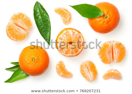 mandarin orange fruit Stock photo © M-studio