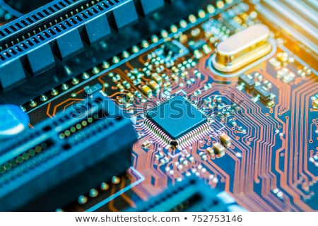 micro electronic components Stock photo © tracer