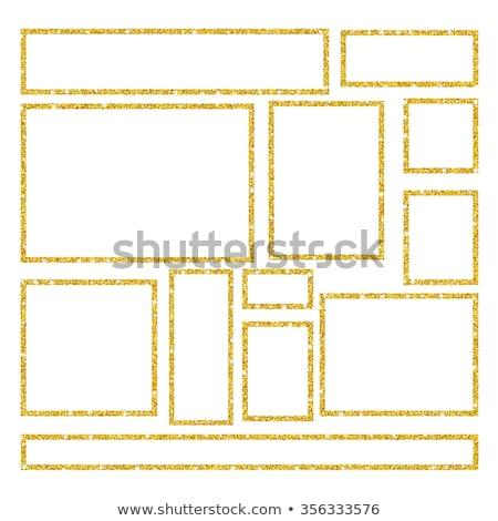 oro · brillo · lujo · textura · grunge · vector · dorado - foto stock © biv