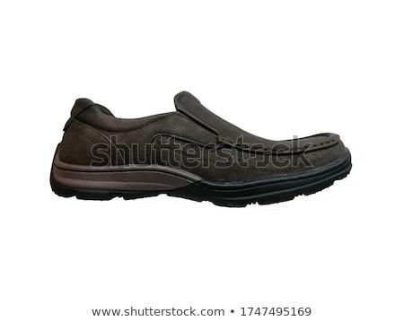 Cipők fehér eps 10 fekete Stock fotó © Istanbul2009