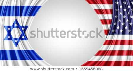 Сток-фото: Израиль · США · флаг
