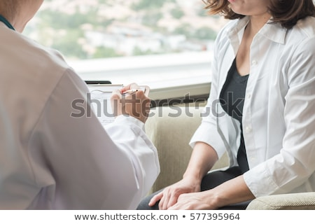 Diagnosis - Menopause. Medical Concept. Stock photo © tashatuvango