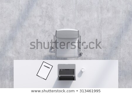 Organized White Chairs