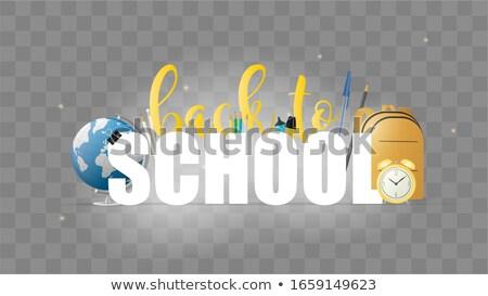 első · idő · első · osztály · boldog · iskolás · fiú · anya - stock fotó © tashatuvango