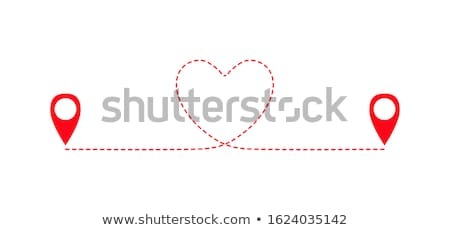 red map pointer no 2 stock photo © oakozhan