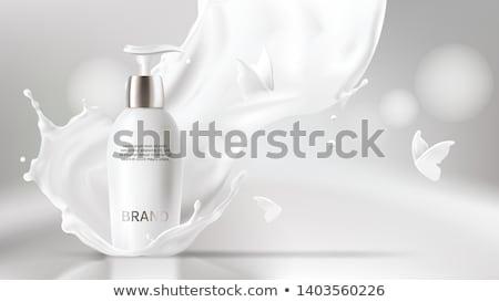 sol · loção · laranja · tubo · areia - foto stock © magraphics