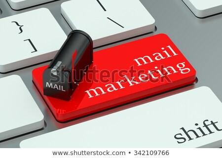 laptop · üzlet · vásárló · fogyasztók · mutat · számítógép - stock fotó © tashatuvango