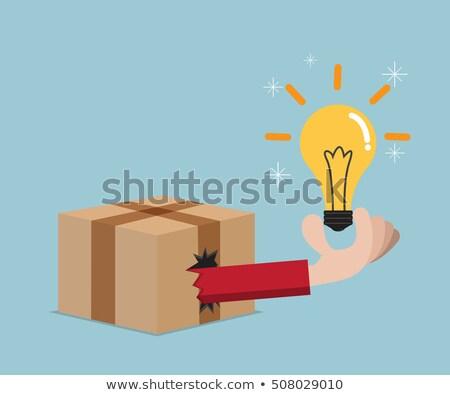 idéia · sucesso · poder · ícone · vetor · educação - foto stock © makyzz