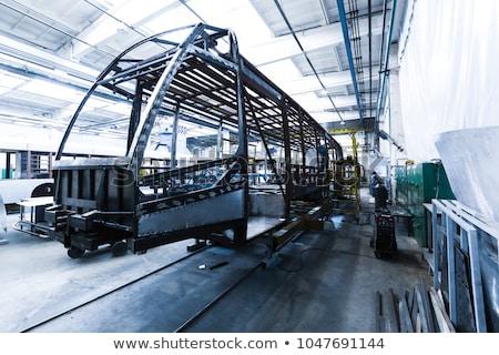 tram production manufacture stock photo © traimak