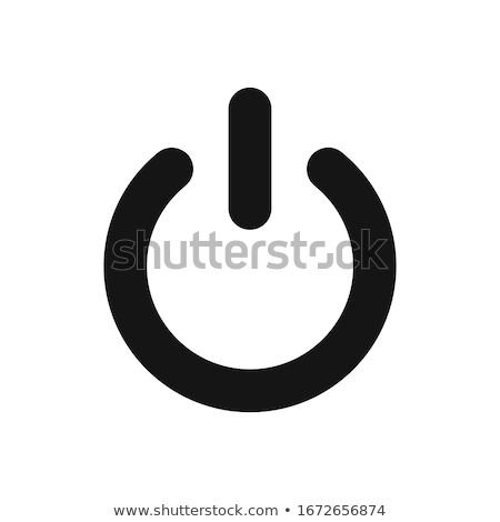 technical button push with wire background. Vector illustration design Stock photo © Linetale