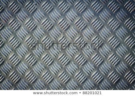 Ruig oude metaal vloer roest naadloos Stockfoto © kayros