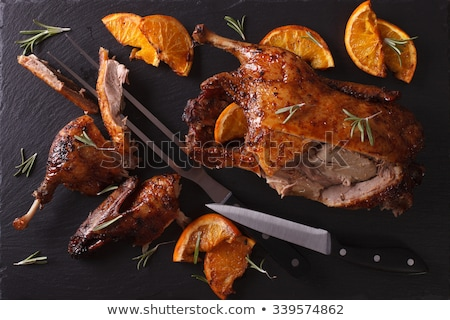 утки апельсинов продовольствие груди обеда Сток-фото © M-studio