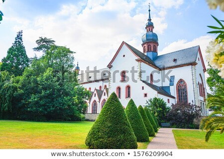 монастырь Германия здании архитектура белый история Сток-фото © phbcz