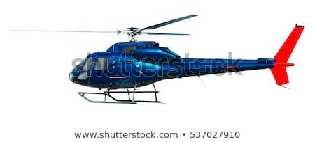 изолированный вертолета белый иллюстрация дизайна искусства Сток-фото © bluering