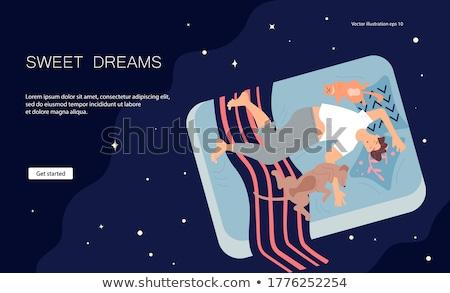 Adult content concept landing page. Stock photo © RAStudio