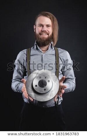 Dojrzały mechanik pojazd zawodowych pracy Zdjęcia stock © Kzenon