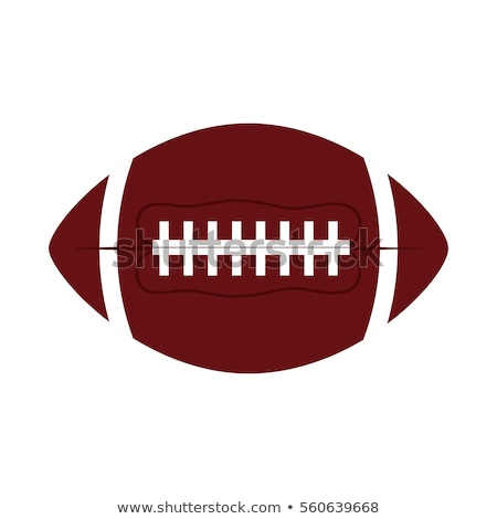 American football fire ball icon Stock photo © angelp