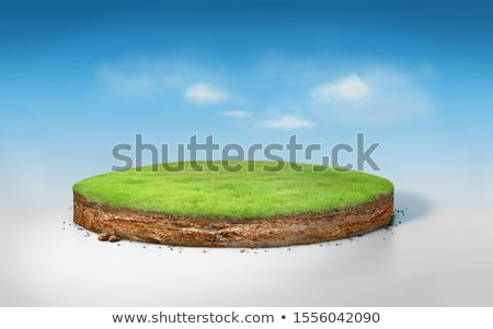 Illustration of a round earth Stock photo © Blue_daemon