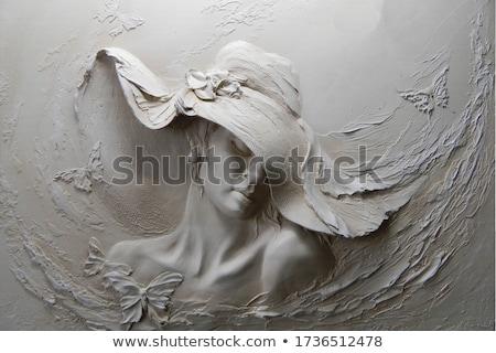 ódivatú absztrakt 3D 3d render illusztráció textúra Stock fotó © djmilic